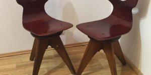 Dziecięce obrotowe krzesła